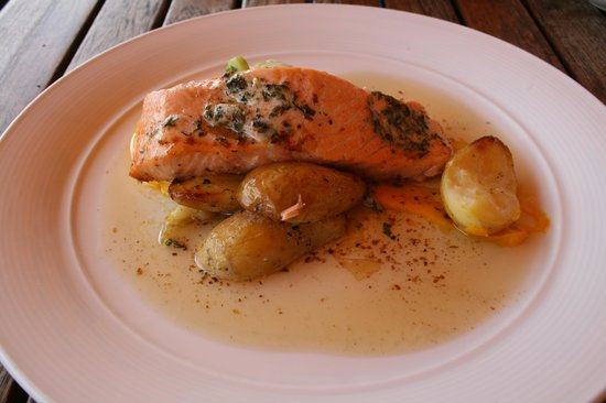 Cafe Alfred: salmon