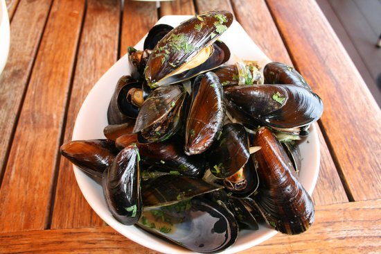 Cafe Alfred: mussels