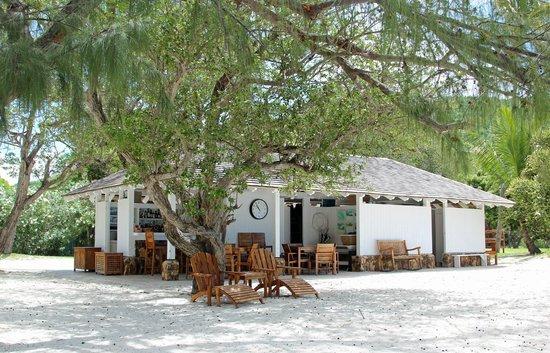 Guana Island: Beach Bar