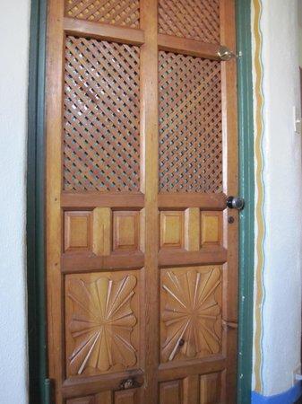 The Hacienda: closet door