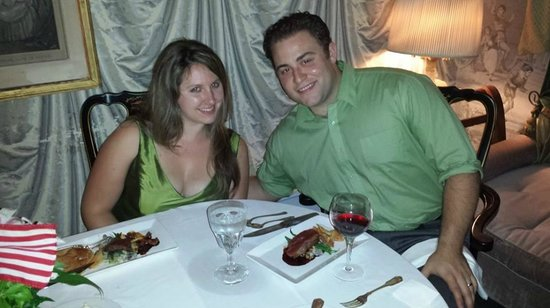 Our 5th year Anniversary at Chillingsworth