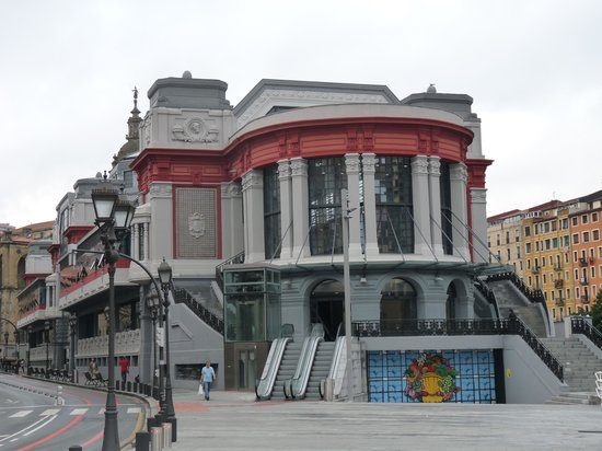 Mercado de La Ribera: Le bâtiment