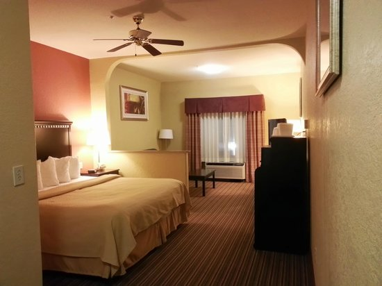Quality Suites North: Room