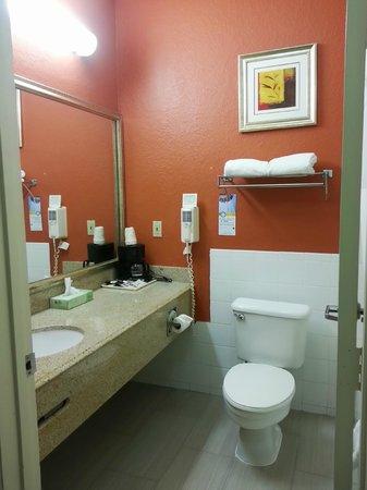 Quality Suites North: Bath Room