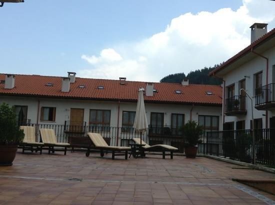 Palacio Azcarate: terraza del primer piso