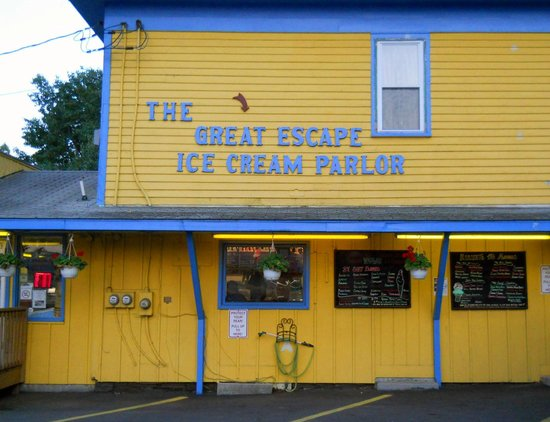 The Great Escape Ice Cream Parlor : Get your ice cream here