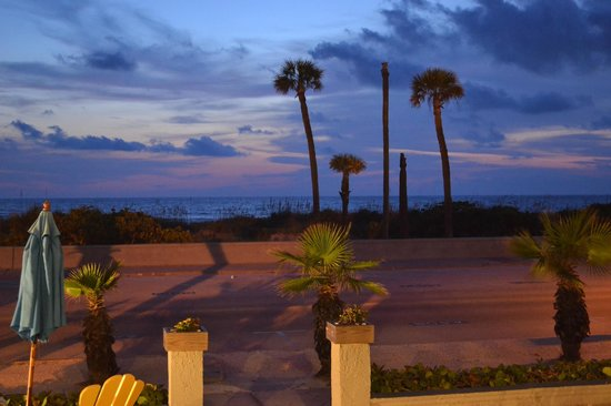 Sabal Palms Inn: View from the Front Porch