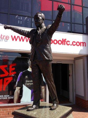 Anfield Stadium: On entering