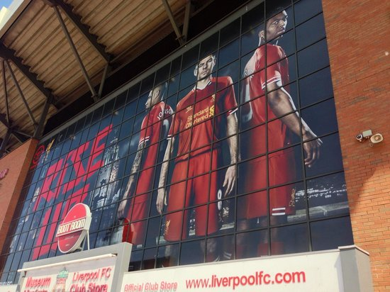 Anfield Stadium: As you arrive