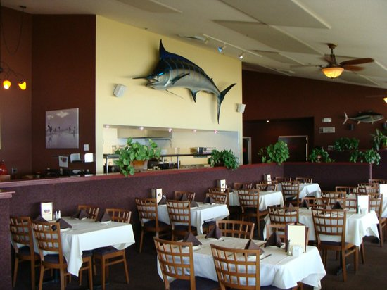 Steamers of Pismo: interior do restaurante