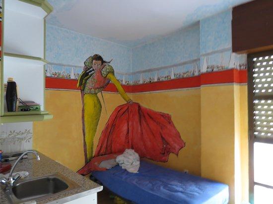 Funky Granada: una habitación