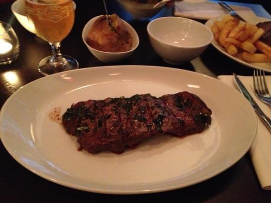 how to cook rump steak medium