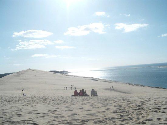 Vue de la baie d 39 arcachon picture of dune du pilat la teste de buch - Hotel dune du pilat starck ...