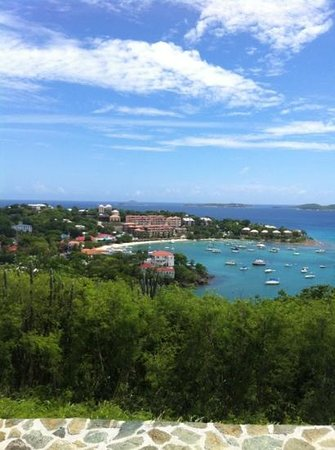 Hillcrest Guest House: Cruz bay