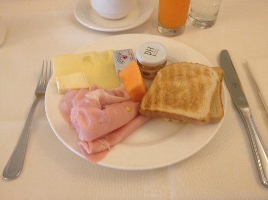 Palace Hotel: Auswahl vom Frühstück