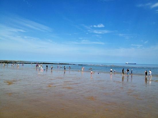 Long Sands Beach : 27th July 2013. Lovely summer at the beach!