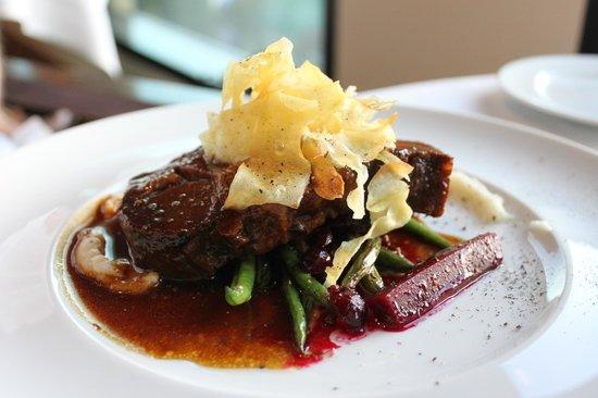 Sparkling Hill Resort : Wild boar dinner - $38