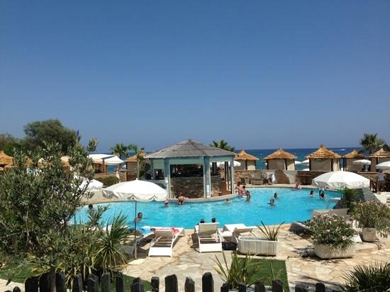 Restaurant Saint Barth: Poolområdet