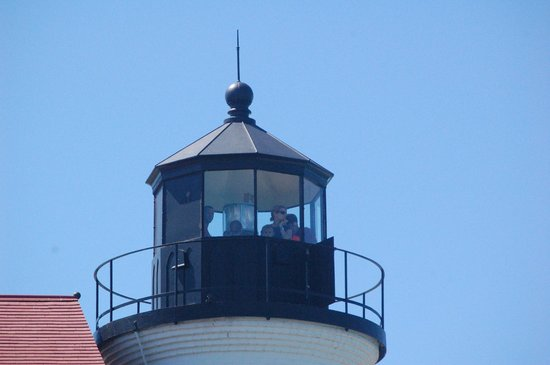 Point Betsie Lighthouse: A tour up in the lighthouse