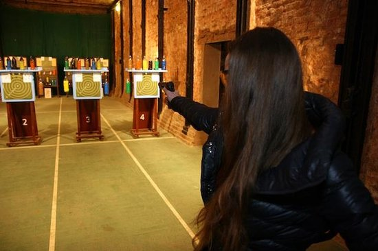 Shooting Range Labyrinth