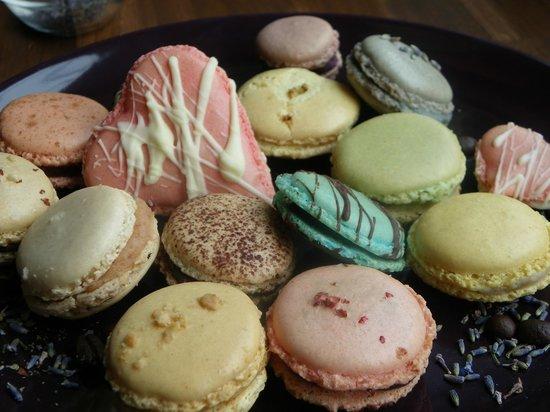 Brahmstaedts Macaron-Manufaktur: Ein kleines Potpourri an köstlichen Macarons...