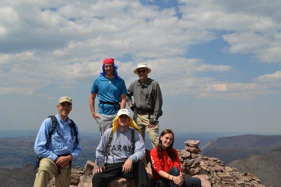 High Uintas Wilderness Area: Summit!