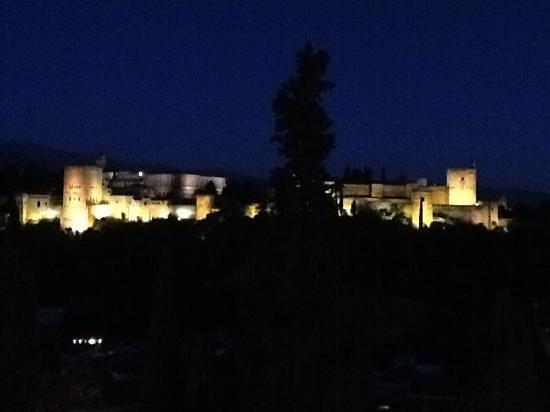 ¨ El Huerto de Juan Ranas ¨ #JUANRANAS: la vue sur l'alhambra , magnifique !!!
