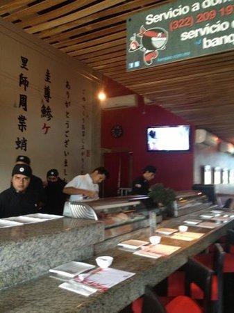 Kensao: La Barra de Sushi!