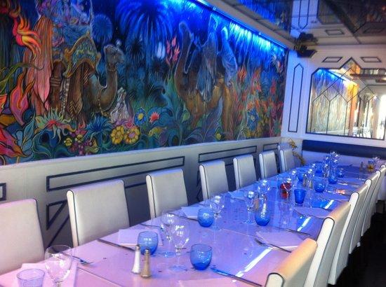 Les Jardins d'Agadir: Notre Belle Table :-)