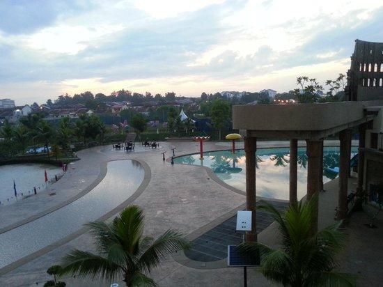 Bayou Lagoon Park Resort : view from the balcony