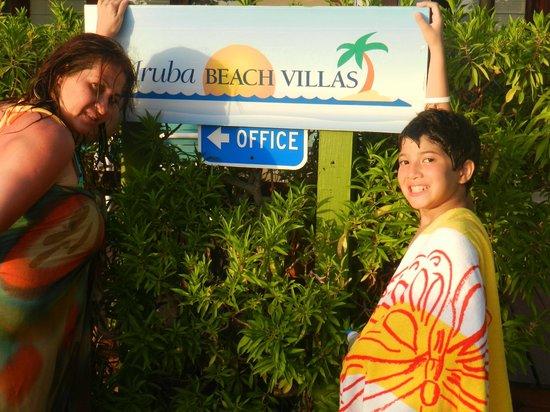 Aruba Beach Villas: Frente
