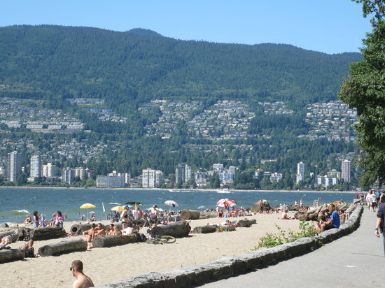 Vancouver, Canadá: city beach :\