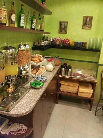 Hotel Augustea: Desayunador