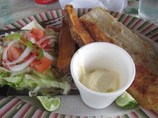 Barbara Rosa's Restaurant : Fish Platter