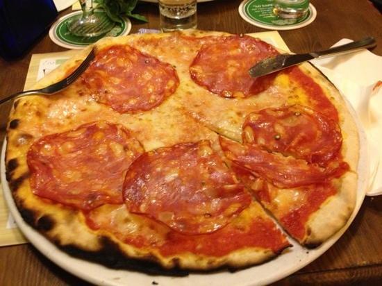 Birreria Moretti: pizza salame piccante