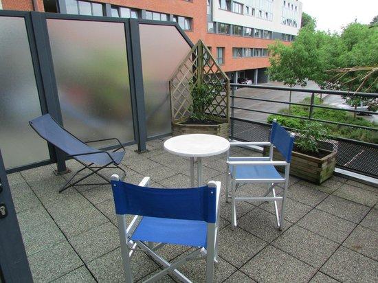 Holiday Inn Express Arras: Terrace