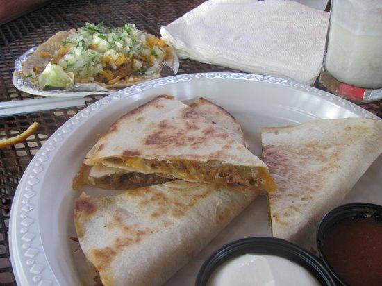 Zaco's Tacos : Quesadillas