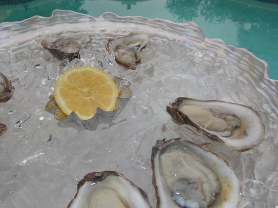 Aphrodite Oysters: Oyster Pool Party!