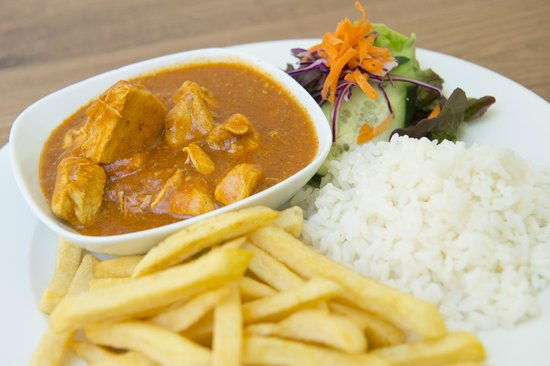 Smith's Cafe-Bar-Restaurant : Chicken curry