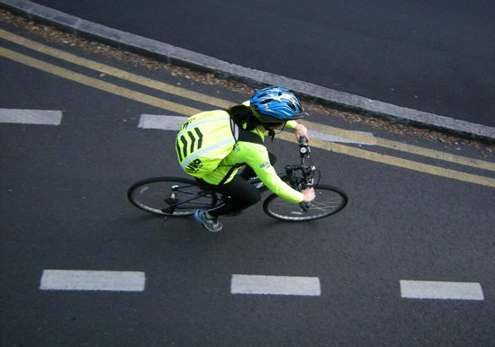 Dublin, Ireland: Bicyclist