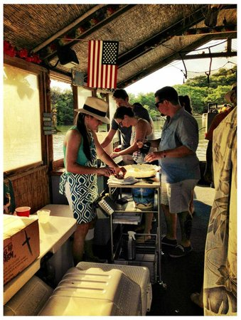 Aphrodite Oysters: Have oysters on your next party barge on the lake!