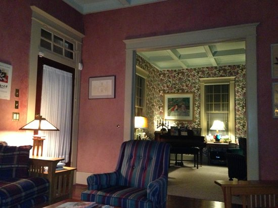 The Lattice Inn: View From One Parlor Looking Towards The Other
