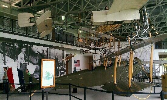 College Park Aviation Museum: Part of the museum...