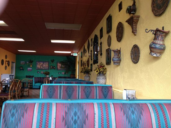 Taco King: Interior picture.