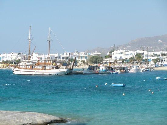 Maragas Beach Naxos: Agia Anna
