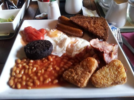 Watersmeet Hotel & Angling Centre: Typical Breakfast