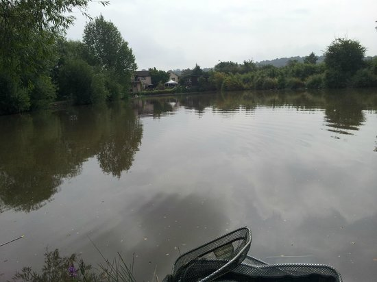 Watersmeet Hotel & Angling Centre: Top of main lake