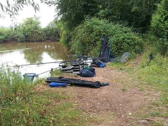 Watersmeet Hotel & Angling Centre: top lake op peg