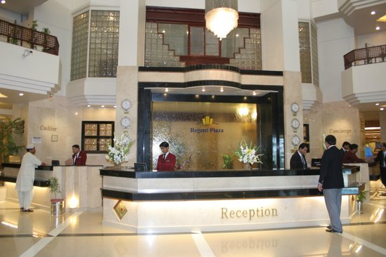 Regent Plaza Hotel: Reception