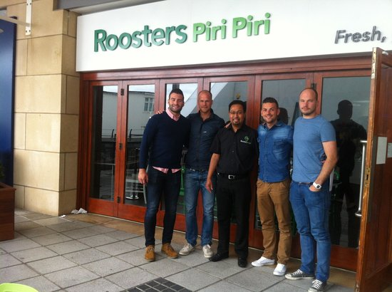 Roosters Piri Piri: Probably the best street food restaurant in the south
